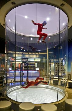 Indoor Skydiving in OKC at iFly...gotta check it out!