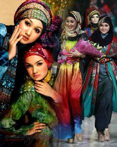 indonesia fashion week 2012 dian pelangi - Penelusuran Google