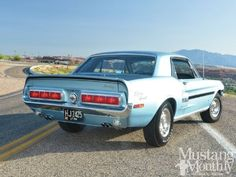 1968 Ford Mustang California Special - CJ Special: This rare pony is one of only three Cobra Jet-powered California Specials