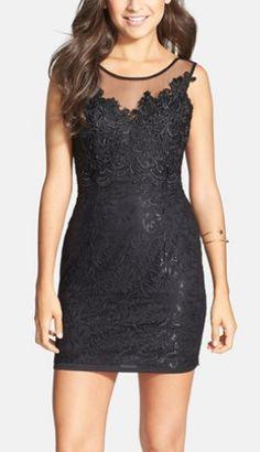 little black dress. love!