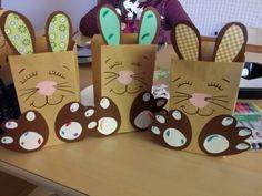 Tüten aus Briefumschlägen  Ostertüten
