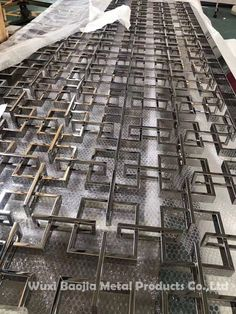 stainless steel decoration solutions for customers Email:chinasteel@ Web: stainless steel decoration solutions for customers Email:chinasteel@ Web: Stainless Steel Screen, Wuxi, Modern Classic, Railroad Tracks, City Photo, Decoration, Decor, Decorating, Decorations