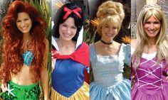 Invite a princess to your child's birthday party! www.DreamComeTrueParty.com
