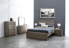 Monaco Hardwood Timber Bed