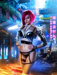 Cyberpunk 2077, Mode Cyberpunk, Cyberpunk Girl, Cyberpunk Aesthetic, Cyberpunk Fashion, Neon Aesthetic, Steampunk Fashion, Gothic Fashion, Arte Lowrider