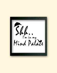 BBC Sherlock Inspired Mind Palace Home by CreationbyEmilyRose, $7.50
