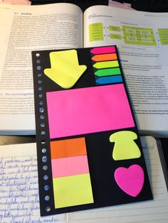 Put post-its everywhere to remind yourself or make some extra notes. :)