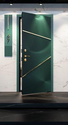 Main Entrance Door Design, Door Gate Design, Wooden Door Design, Bedroom Door Design, Door Design Interior, Single Door Design, Flush Doors, Exterior Doors, Interiors