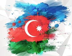 on Behance Azerbaijan Flag, Turkey Flag, Biology Art, Cute Muslim Couples, Caricature Artist, Country Art, Sports Wallpapers, National Flag, Graphic Design Posters