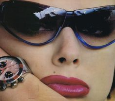 US Vogue June 1993 by Helmut Newton.