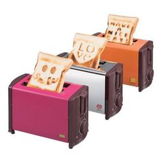 Adorable #toasters from a Japanese store called #Francfranc. Id eat toast everyday.