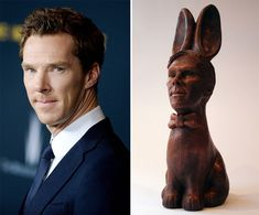 Ever wanted Benedict Cumberbatch for Christmas? Well, you can't. But if you want him for Easter then you just might be in luck thanks to the unique creation of a Brighton-based chocolatier.