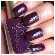 #LOréal #Loreal #nails #nailpolish #swatches .  Instagram: accnpl