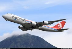 LX-VCI Cargolux Airlines International Boeing 747-8R7F photographed at Hong Kong - Chek Lap Kok International (HKG / VHHH) by Jack Xie