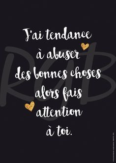 Valentine's Day Quotes : QUOTATION - Image : Quotes Of the day - Description Affiche Amour … - Sharing is Power - Don't forget to The Words, Cool Words, Valentine's Day Quotes, Best Quotes, Love Quotes, Quotes Inspirational, Image Citation, Quote Citation, Amor Humor