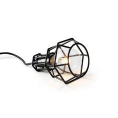Work Lampe Schwarz, Design House Stockholm