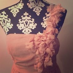 Dusty Rose dress. Worn once to a wedding. Very pretty Forever 21 Dresses Mini