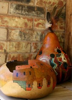 Southwest Gourds and Art - Native American Gourds Katie Smith Galvin