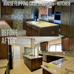A Before And After Picture Of House Flipping Case Study Houseflipping