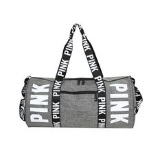 Pink Duffle Bag, Tote Bag, Vs Pink Backpack, Duffel Bags, Mens Gym Bag, Bag Men, Nylons, Pink Gym, Mens Travel Bag