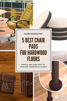 The best chair pads for hardwood floors will protect your beloved hardwood floors from scratches and dents from chair legs. Recommended products..