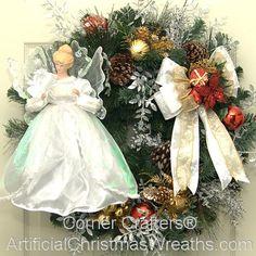 Christmas Angel Wreath