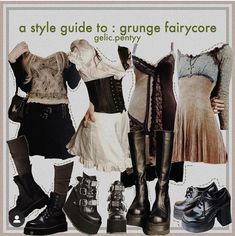 Aesthetic Grunge Outfit, Aesthetic Fashion, Aesthetic Clothes, Mode Outfits, Grunge Outfits, Fashion Outfits, Alternative Outfits, Alternative Fashion, Swaggy Outfits
