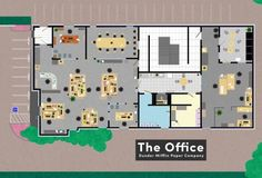 7 Fictional Workplace Floor Plans - Neatorama