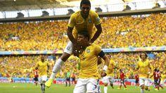 El objetivo de Thiago Silva en Las fotos. Aquí