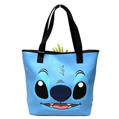 Loungefly X Disney Stitch  Scrump 2Sided Tote Bag * To view further for this item, visit the image link. Note:It is Affiliate Link to Amazon.