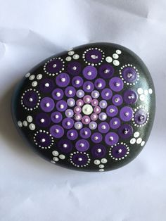 A personal favorite from my Etsy shop https://www.etsy.com/listing/235702361/mandala-painted-stone-large