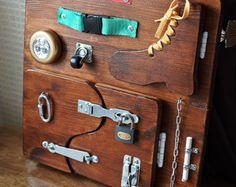 Busy Board 35 elements Activity Board Sensory Board