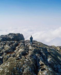 Sapitwa: a combination of great rocks & clouds below. jeffthetravelogist (IG) The highest point in the great sweep of Africa that includes: Malawi Mozambique Zambia Zimbabwe Botswana Namibia & Angola. Check the map it's a big area. Above The Clouds, Zimbabwe, The Locals, Mount Everest, Traveling By Yourself, Safari, Rocks, African, Map