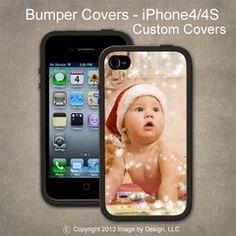 Custom - I Phone 4, 4s Bumper Cover