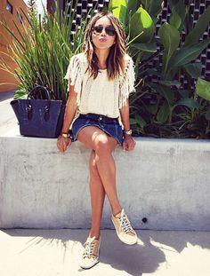 Cute+Outfits+Ideas+to+Wear+to+a+Summer+Fair+via+@WhoWhatWear