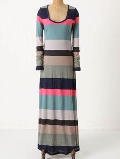 Anthropologie Different Degrees Maxi Dress