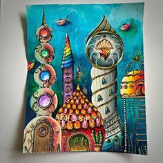 User Denny Idema  Take a peek at this great artwork on Johanna Basford's Colouring Gallery!
