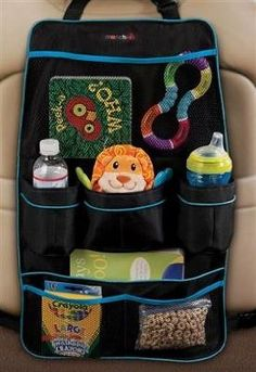 Munchkin Backseat Organizer, Black