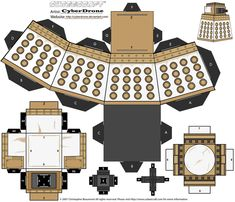 Cubee - Special Weapons Dalek by CyberDrone.deviantart.com on @deviantART