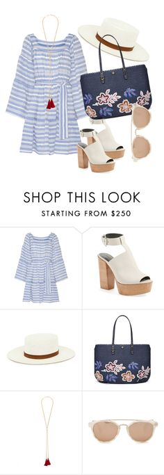 """Holiday Look"" by evefg85 on Polyvore featuring Lisa Marie Fernandez, Rebecca Minkoff, Janessa Leone, Tory Burch, Chloé, Taylor Morris, beachstyle and holidays"