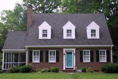 cape code house exterior colors