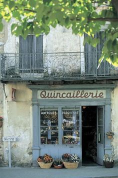Provence, old shop