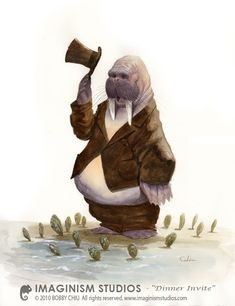 """The time has come"" the Walrus said, ""to talk of many things. Of shoes and ships, of sealing wax and cabbages and kings""."