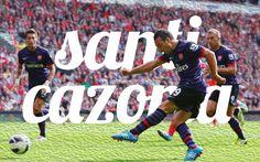 Santi Cazorla. Arsenal