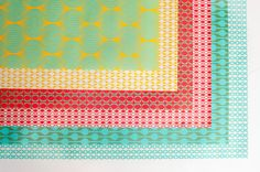 Double Sided Wrapping Paper mixed pack 3 sheets by EvaenAnne