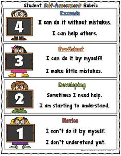 FREE Marzano Student Self-Assessment Rubric by Teacher's Take-Out Newborn Assessment, Letter Assessment, Formative And Summative Assessment, Student Self Assessment, Career Assessment, Personality Assessment, Nursing Assessment, Student Data, Assessment For Learning Strategies