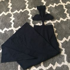 Nasty Gal Cut Out Maxi Dress XS Perfect condition. No holes. No stains. Only worn once. High waisted skirt with attached minimal coverage top. Absolutely beautiful. Nasty Gal Dresses Maxi