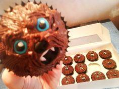 Wookie cupcakes!