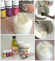 DIY All Natural Essential Oil Night Cream Recipe!