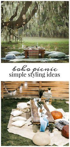 Boho Picnic-Simple Styling Ideas